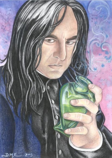 Alan Rickman by donnamevans